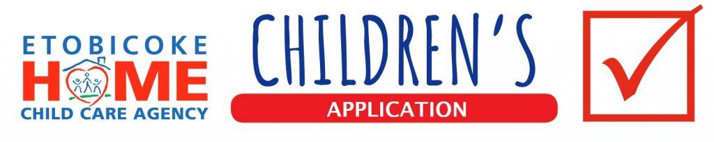 Etobicoke Home Child Care Agency logo